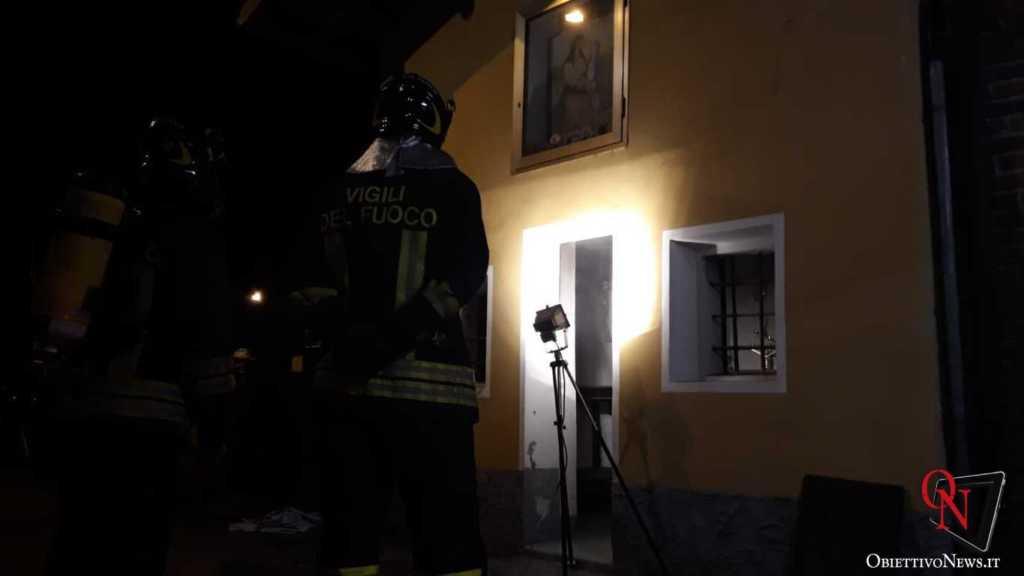 Cirie incendio chiesa 2