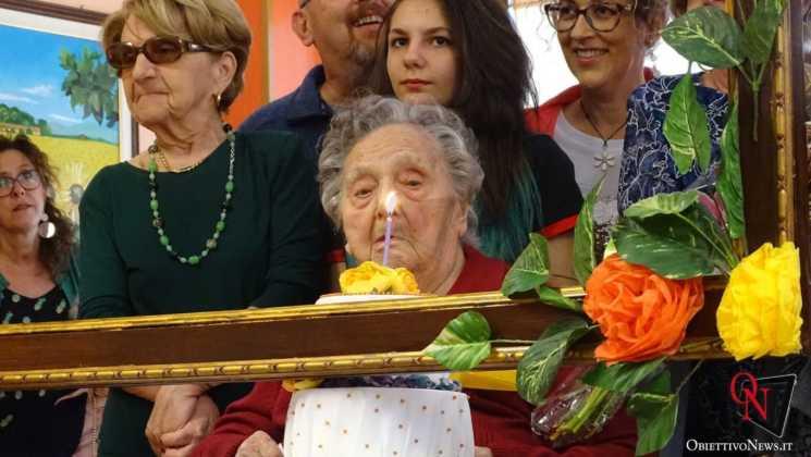 Cuorgne Umberto Compleanno Antonia Enrietto 106 ANNI 42