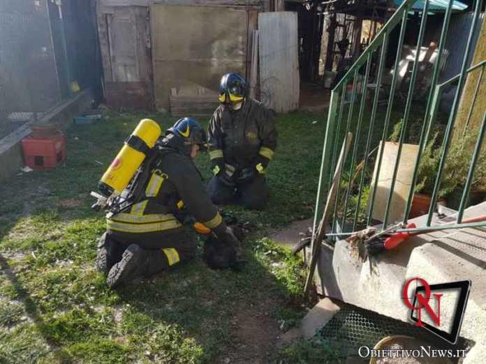 Germagnano incendio alloggio 2