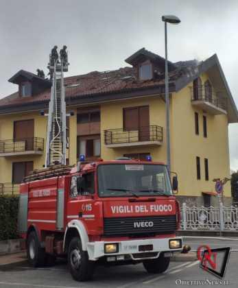San Carlo incendio tetto via don boasso 4