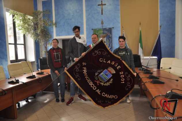 San Francesco al Campo Bandiera Leva 2001 3