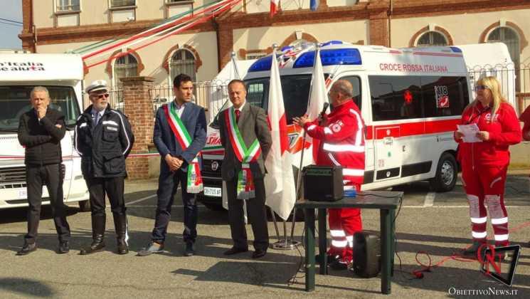 San Francesco al Campo Inaugurazione mezzi CRI 10 Res