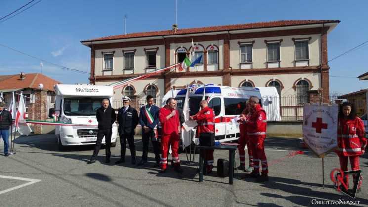 San Francesco al Campo Inaugurazione mezzi CRI 11 Res