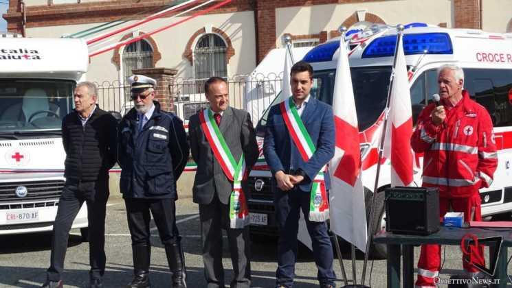 San Francesco al Campo Inaugurazione mezzi CRI 13 Res