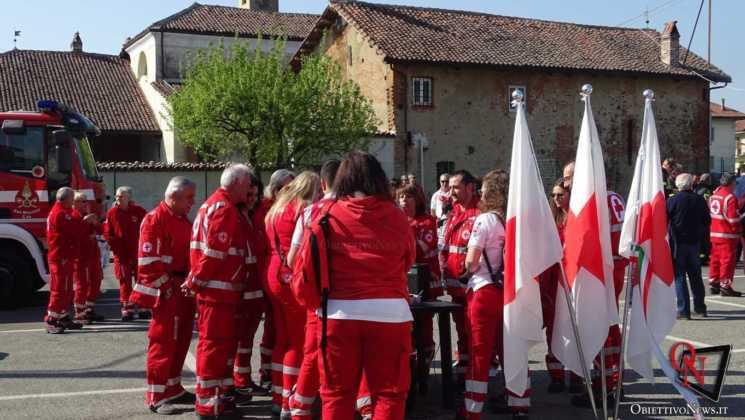 San Francesco al Campo Inaugurazione mezzi CRI 25 Res