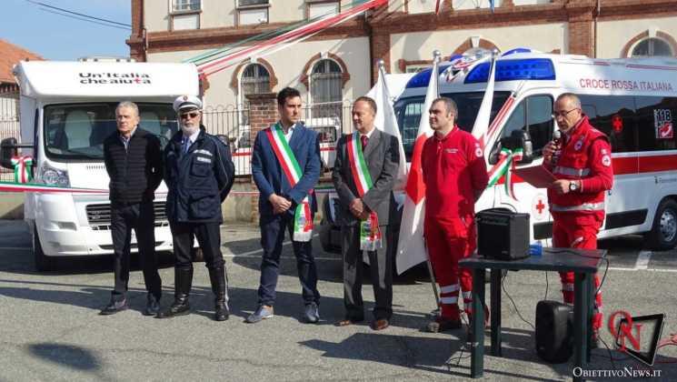 San Francesco al Campo Inaugurazione mezzi CRI 6 Res