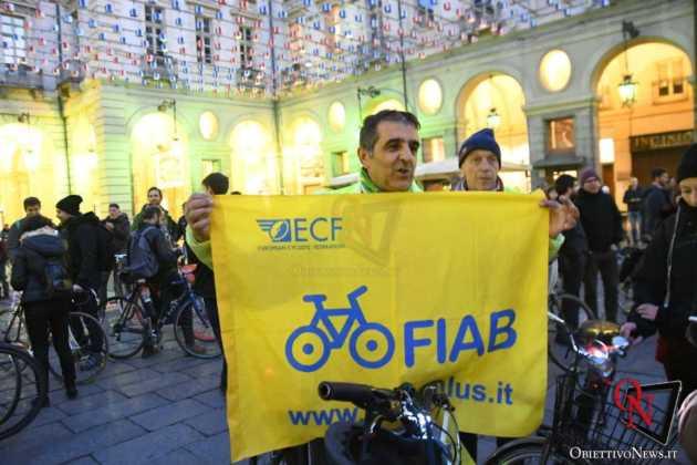 Torino Flash mob ciclisti FIAB 10