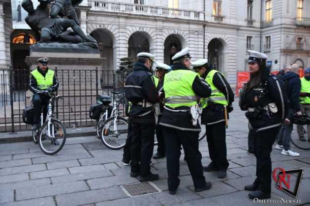 Torino Flash mob ciclisti FIAB 2