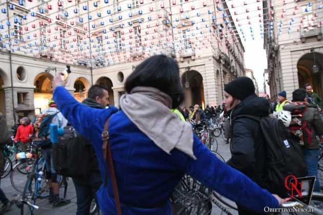 Torino Flash mob ciclisti FIAB 3