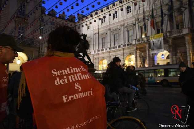 Torino Flash mob ciclisti FIAB 5