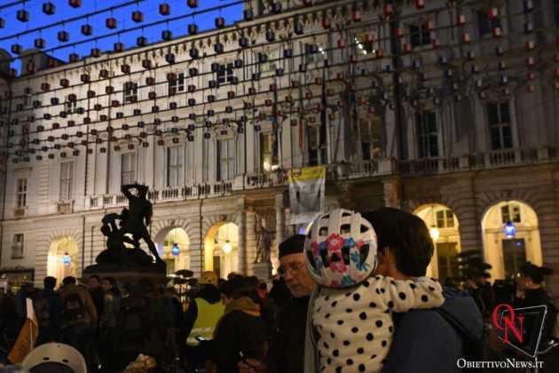 Torino Flash mob ciclisti FIAB 6