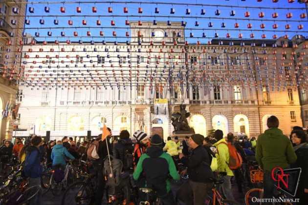 Torino Flash mob ciclisti FIAB 8