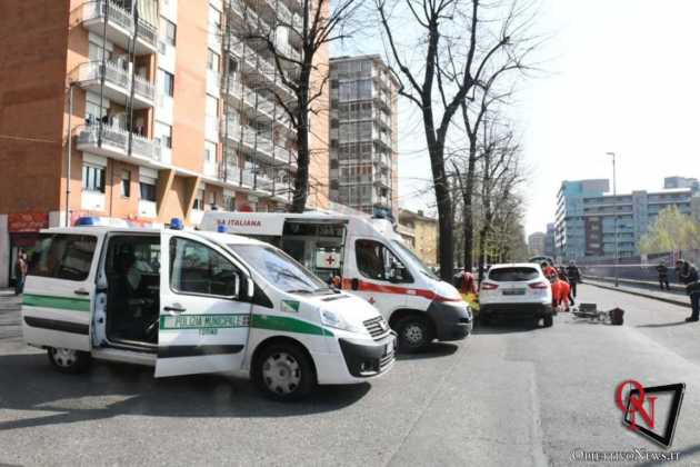 Torino Via Verolengo ciclista investito 3