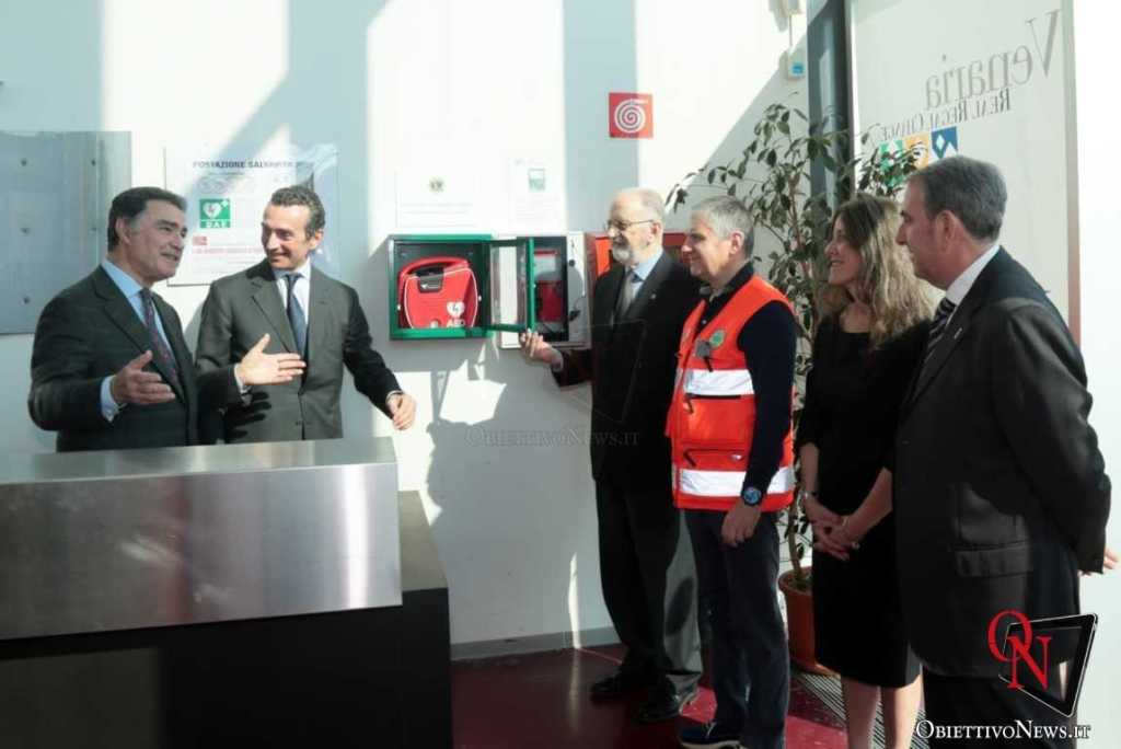 Venaria Defibrillatore Concordia