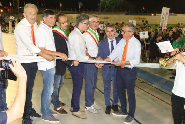 inaugurazione Campioanti italiani giov su pista 2018 res
