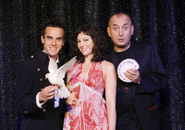 Luca Bono e Marco Aimone con Sabrina Iannece in Illusioni Foto Paolo Ranzani Res