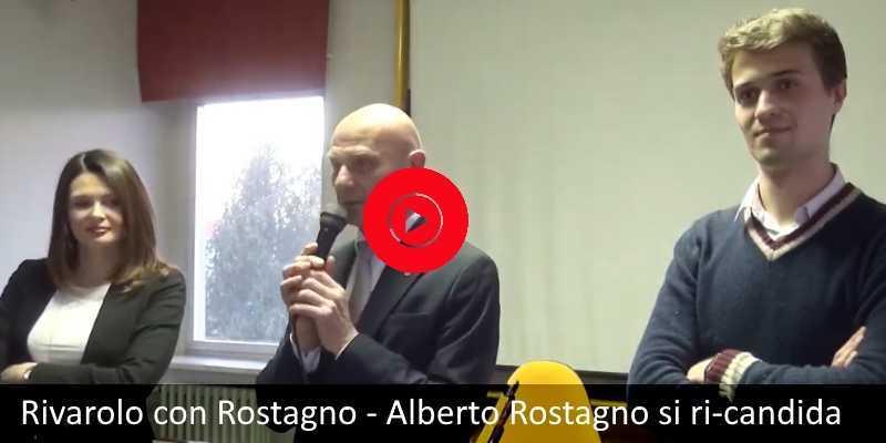 Rivarolo con Rostagno - Speciale Elezioni: Alberto Rostagno si ri-candida