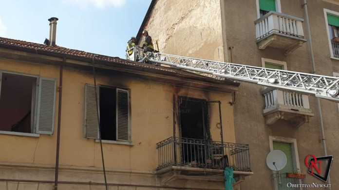 Torino Esplosione Palazzina Via Villar 2
