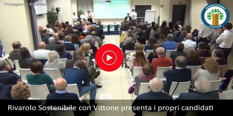 Rivarolo Sostenibile con Vittone presenta i propri candidati