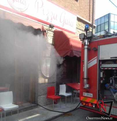 Castellamonte incendio pizzeria