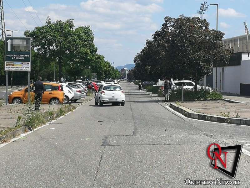Torino donna investita in via Druento 3
