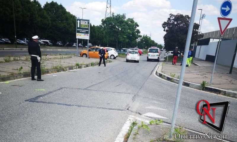 Torino donna investita in via Druento
