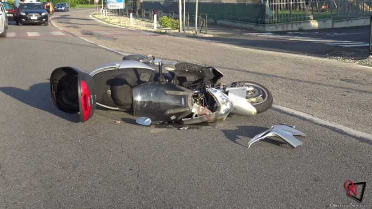 Busano incidente scooter 2