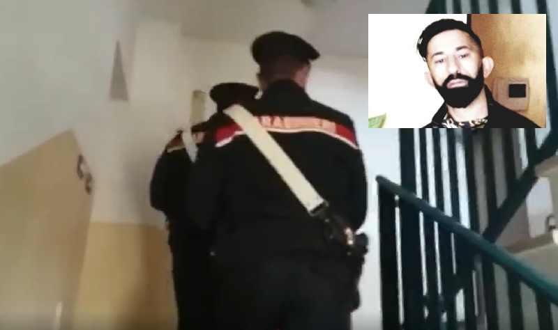 Cuorgne arrestato furto acciaio 1