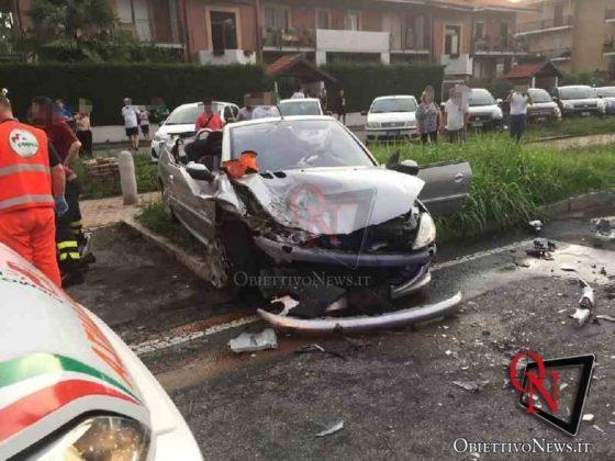 Leini incidente in via Torino 1