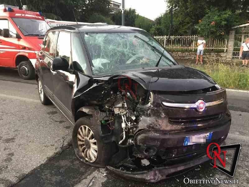 Leini incidente in via Torino 3