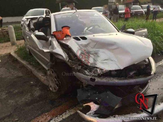 Leini incidente in via Torino 4