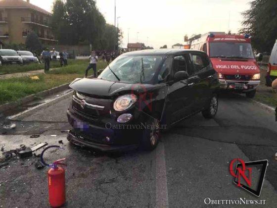 Leini incidente in via Torino