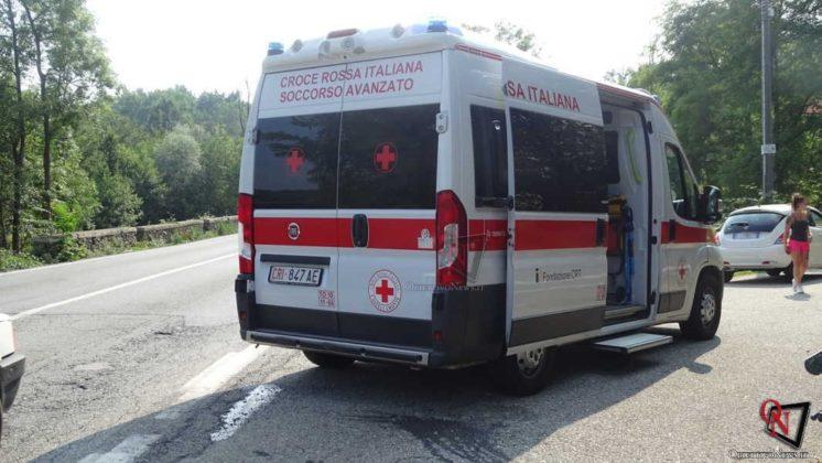 Strambinello Pontepreti incidente moto 3