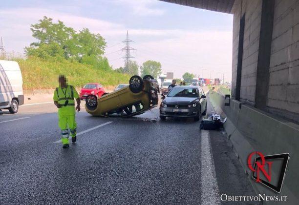 Torino incidente tangenziale collegno