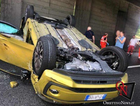 Torino incidente tangenziale collegno7