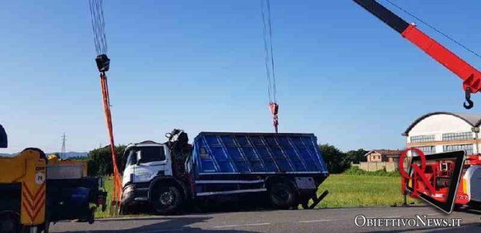 leini camion via volpiano