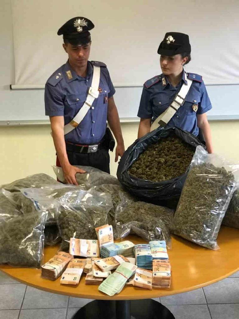 Chivasso bunker droga 1