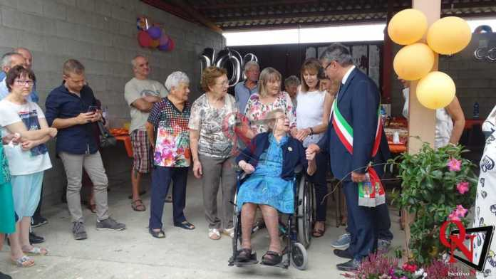 Castellamonte Spineto Festeggiamenti 100 anni nonna Anna 16