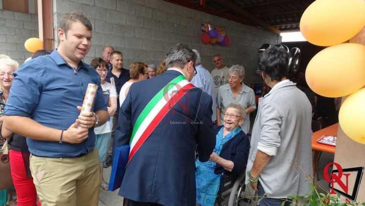 Castellamonte Spineto Festeggiamenti 100 anni nonna Anna 5