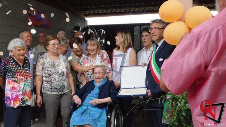 Castellamonte Spineto Festeggiamenti 100 anni nonna Anna 9