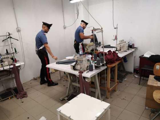 Cirie laboratorio clandestino cinese 1
