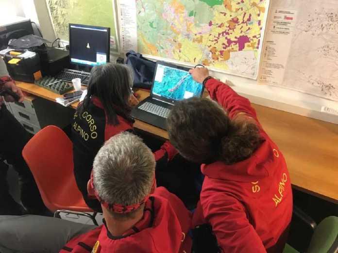 Cumiana centro operativo soccorso alpino