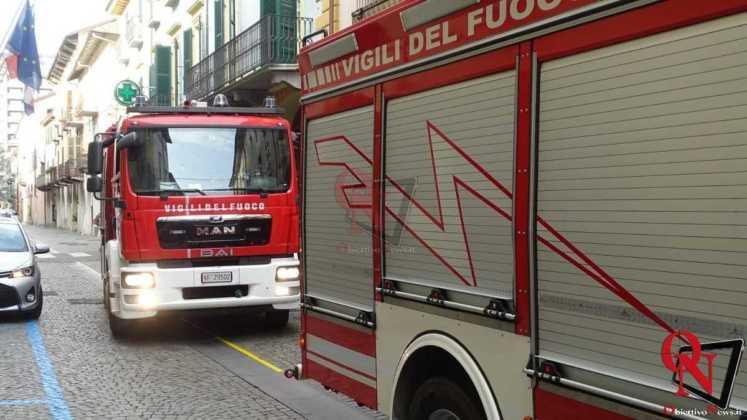 Rivarolo Canavese Principio incendio Via Ivrea 1