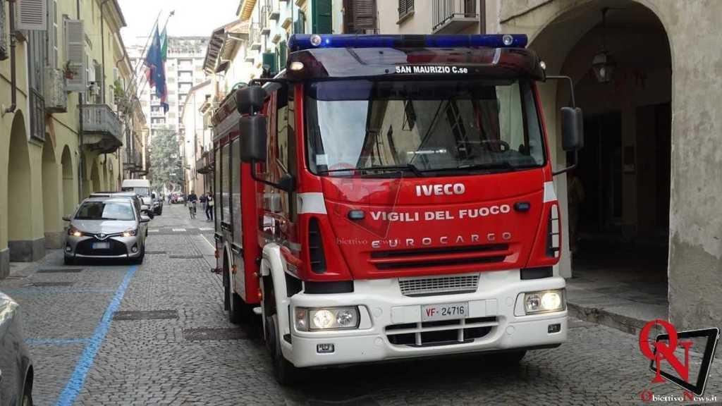 Rivarolo Canavese Principio incendio Via Ivrea 3