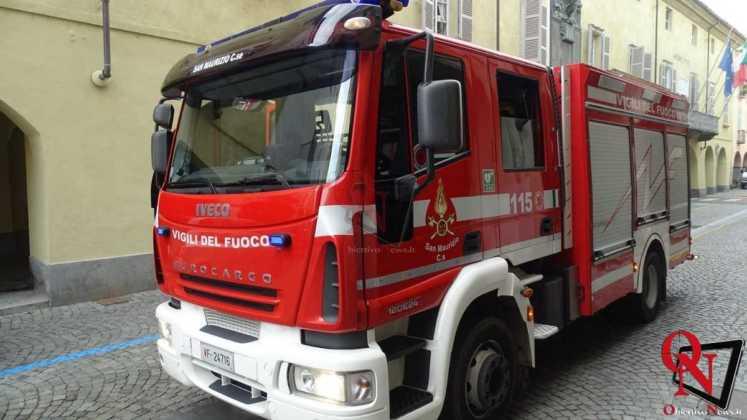 Rivarolo Canavese Principio incendio Via Ivrea 6