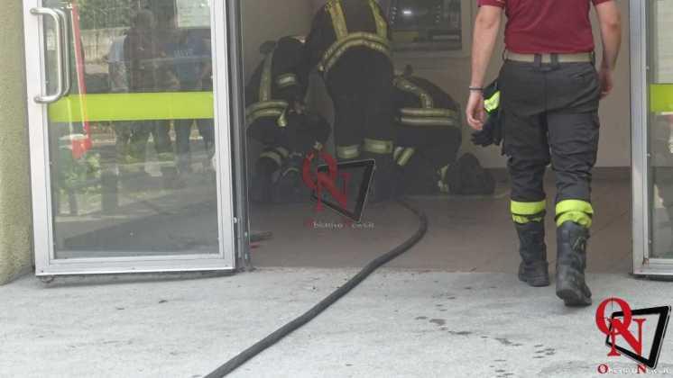 Rivarolo Incendio Bidone Postamat 3