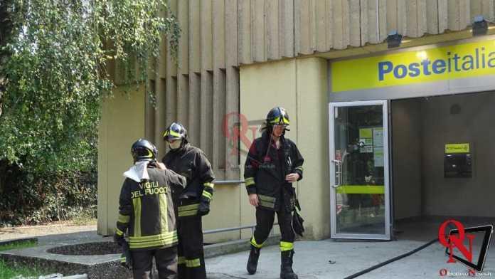 Rivarolo Incendio Bidone Postamat 7