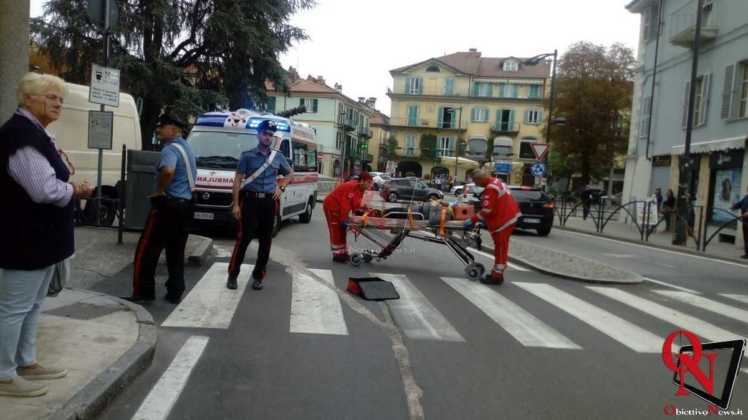 Rivarolo donna caduta sulle strisce pedonali 8