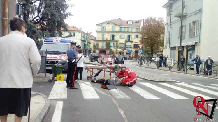 Rivarolo donna caduta sulle strisce pedonali 9