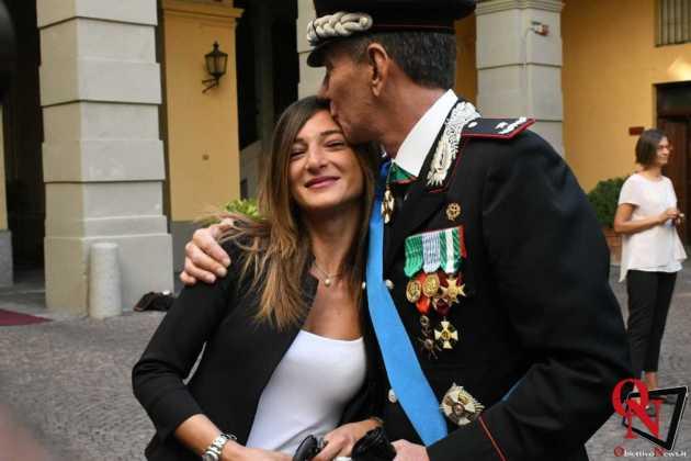 Torino Il Generale Iacobelli con Laura Spadafora